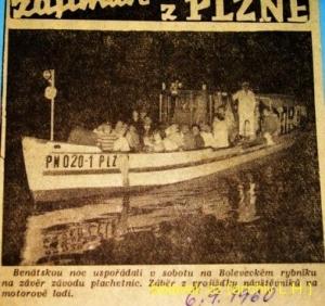 Bolevák - noviny loď