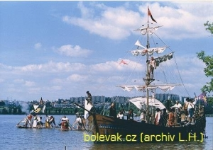 Bolevák - loď 3