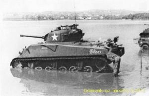 Bolevák - tank na pláži