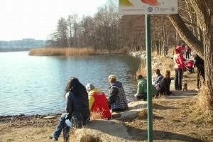 Bolevecký rybník U haničky