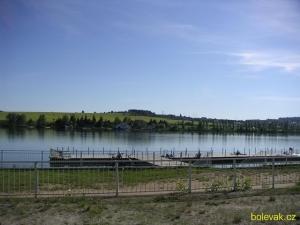 Bolevecký rybník terasa